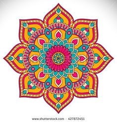 Find Flower Mandalas Vintage Decorative Elements Oriental stock images in HD and millions of other royalty-free stock photos, illustrations and vectors in the Shutterstock collection. Thousands of new, high-quality pictures added every day. Mandala Art, Mandala Drawing, Mandala Painting, Dot Painting, Mandala Oriental, Motif Oriental, Oriental Pattern, Indian Mandala, Motifs Islamiques