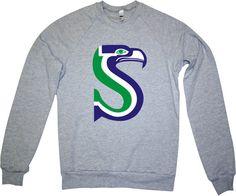 Hey, I found this really awesome Etsy listing at https://www.etsy.com/listing/171554898/seahawks-heather-grey-sweatshirt