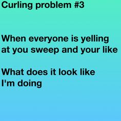 Lol Curling Rules, Curls Quotes, Olympic Curling, Sports Memes, Sport Quotes, Wedding Crafts, Winter Olympics, Raptors, A Team