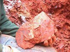 digging big point crystal