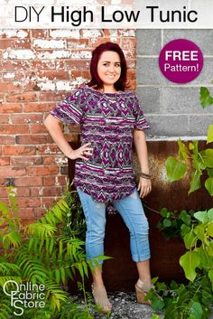 How To Make a High Low Tunic