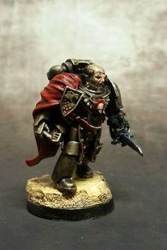 Brother Mandyakos #warhammer #40k #minotaurs