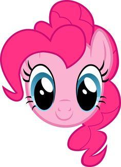 MLP - Pinkie Pie Headshot
