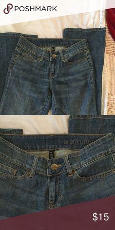Gap western boot cut jeans