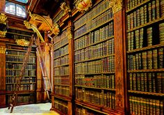 """""""Melk Abby Library"""" (Austria) from click-through post  """"Getting it Right in the Digital Camera : Prague to Budapest II,"""" with more gorgeous photos by Jeff Newcomer."""