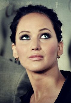 Why are your eyes so gorgeous Jennifer Lawrence?