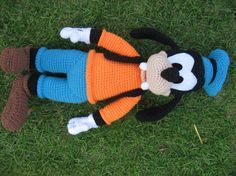 FREE Super Big Goofy Amigurumi Crochet Pattern and Tutorial