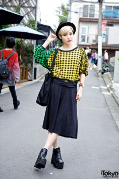 Arisa is a friendly English-speaking Japanese fashion blogger & photographer we see often on the streets of Harajuku.