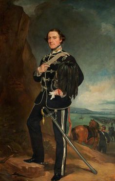 The 2nd Lord de Tabley (1811–1887), as Colonel Commandant of the Earl of Chester's Yeomanry Cavalry