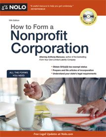 Can't afford a lawyer, well this book saved our little non-profit a lot of money. Gives you great tips on starting a non-profit and provides you with templates to get things moving. After using this book I realized I should have done this a long time ago because it wasn't that bad.