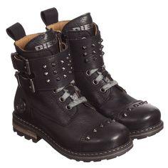 Cool black leather b
