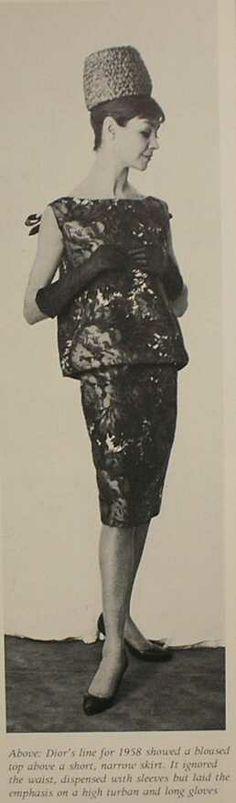 Dior circa 1958 | House of Beccaria