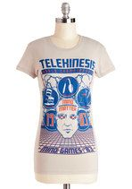 Competing of the Minds Tee | Mod Retro Vintage T-Shirts | ModCloth.com