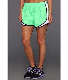 Nike Tempo Short Poison Green/White/Blackened Blue/Matte Silver -