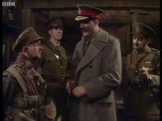 Blackadder in the first world war. General Melchett visits the troops.