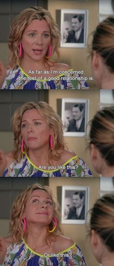 funny, relationship, samantha, samantha jones, satc