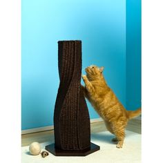 The Refined Feline Calypso Cat Scratcher. I like the look, but the price is ridiculous!