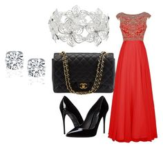 """Prom"" by ellamcconnell2005 on Polyvore featuring Dolce&Gabbana, Chanel and M&Co"