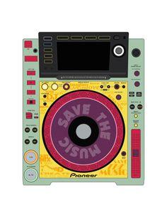 Pioneer CDJ 2000 Remix Art Contest Djs love art too and artists love music. Pioneer Cdj 2000, Pioneer Dj, Dj Remix, Dj Equipment, Love Art, Mixer, Audio, Artists, Table