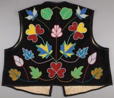 ojibwe beaded vest