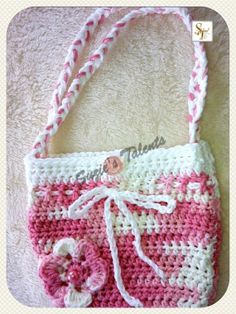 PATTERN PT009  Girls Little Purse Crochet door PatternsDesigner, $4.99