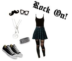 """""""Rock On!"""" by shadowbat on Polyvore"""