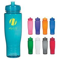 Promotional Poly-clean 28 oz Plastic Bottle | Customized Plastic Sports Bottles | Promotional Plastic Sports Bottles
