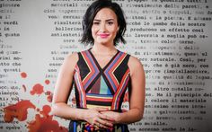 Demi Lovato Wallpaper Background for Desktop, Laptop, Tablet, Mobile and iPhone in Ultra HD Full HD, Widescreen and Normal Resolution Wallpapers. American Singers, American Actress, Demi Lovato 2018, Hollywood, Usa Wallpaper, Hand On Head, Celebrity Wallpapers, Role Models, Beauty Women