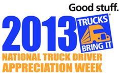 Penske thanks all of its truck drivers to start off 2013 National Truck Driver Appreciation Week. Explore great truck driver careers with Penske and be appreciated every day! | #NTDAW #trucking #truckers #drivers #CDL #logistics #trucks #NationalTruckDriverAppreciationWeek