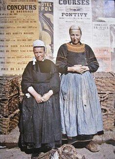 Bretagne, voyager en couleurs, autochromes 1907-1929, musée Albert-Kahn, Boulogne-Billancourt