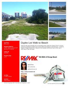 Duplex Lot Walking Distance to the Beach