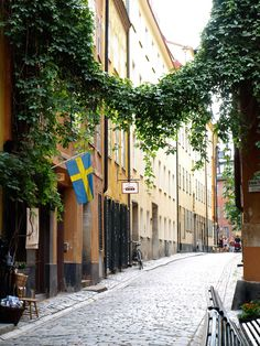 Old Town Stockholm Swedish Flag, Weird Pictures, Stockholm Sweden, World Traveler, Helsinki, All Over The World, Wonderful Places, Old Town, Cemetery