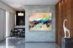 Large Painting on Canvas,Extra Large Painting on Canvas,texture painting,large interior art,gold canvas painting FY0007
