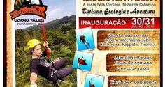 Turismo, ecologia e aventura – Cachoeira Paulista, em Doutor Pedrinho, terá tirolesa de 250 metros   Portal Timbó Net