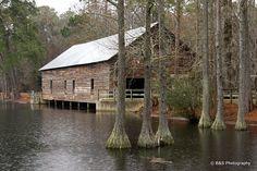 Parrish Mill Covered Bridge Twiggs City, GA