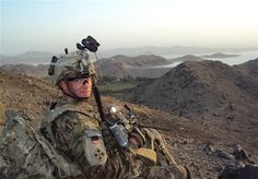 Army Staff Sgt. Ty M. Carter provides overwatch during a 2012 deployment to Afghanistan. On Aug. 26, Carter will become the fifth living Medal of Honor recipient for actions in Iraq or Afghanistan when he is recognized for his actions during a 2009 battle in Afghanistan's Nuristan province. U.S. Army photo