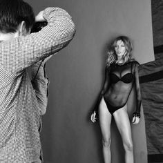 Backstage of a special project with my lingerie Gisele Bündchen Intimates shot by Kevin OBrien www.giseleintimates.com Bastidores de um projeto super especial com minha lingerie Gisele Bündchen Intimates fotografado por @Kevin O'Brien para Revista Marie Claire Brasil www.giseleintimates.com