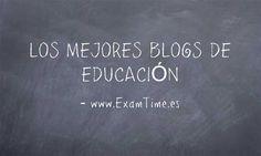 Te presentamos los mejores blogs y webs de educación para mantenerte al día de todo lo que sucede en el mundo educativo. Haz clic para ver la lista ya.