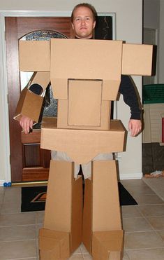 decepticon costume | Homemade Transformer Costume                                                                                                                                                                                 More