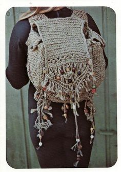 one macrame rucksack on the double