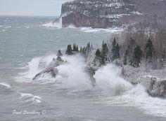Storm on Lake Superior