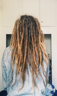 my dreads after 6 months