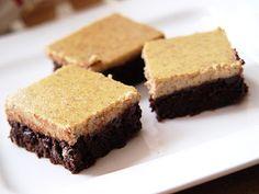 mia.s everyday stories: Brownies mit Vanille-Frischkäse-Creme.