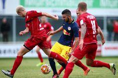 Im letzten Testspiel vor dem Start der neuen Fußballsaison besiegte der FC Red Bull Salzburg den deutschen Zweitligisten Würzburger Kickers mit 4:1.