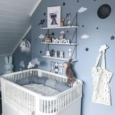 (@madelen88) Good night ✨ - #boysroom #nursery #barnrum #barnerom #kinderkamer #kinderzimmer #kidsinspo…""