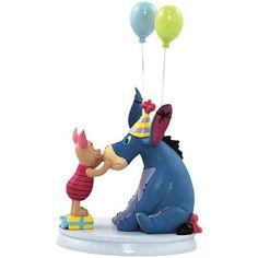 Piglet & Eeyore Birthday Statue. Want.
