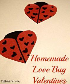 Love Bug #Valentine Craft for #Kids
