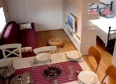 decorar apartamentos pequenos 2 Apartamentos pequenos bonitos