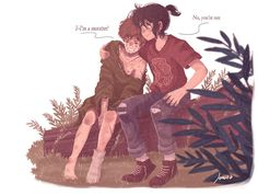 The Marauders - Remus Lupin and Sirius Black by Space Dementia