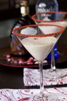 White Chocolate Godiva Liqueur & Whipped Cream Vodka make a yummy Cloud 9 Martini